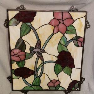 Stainglass window decor